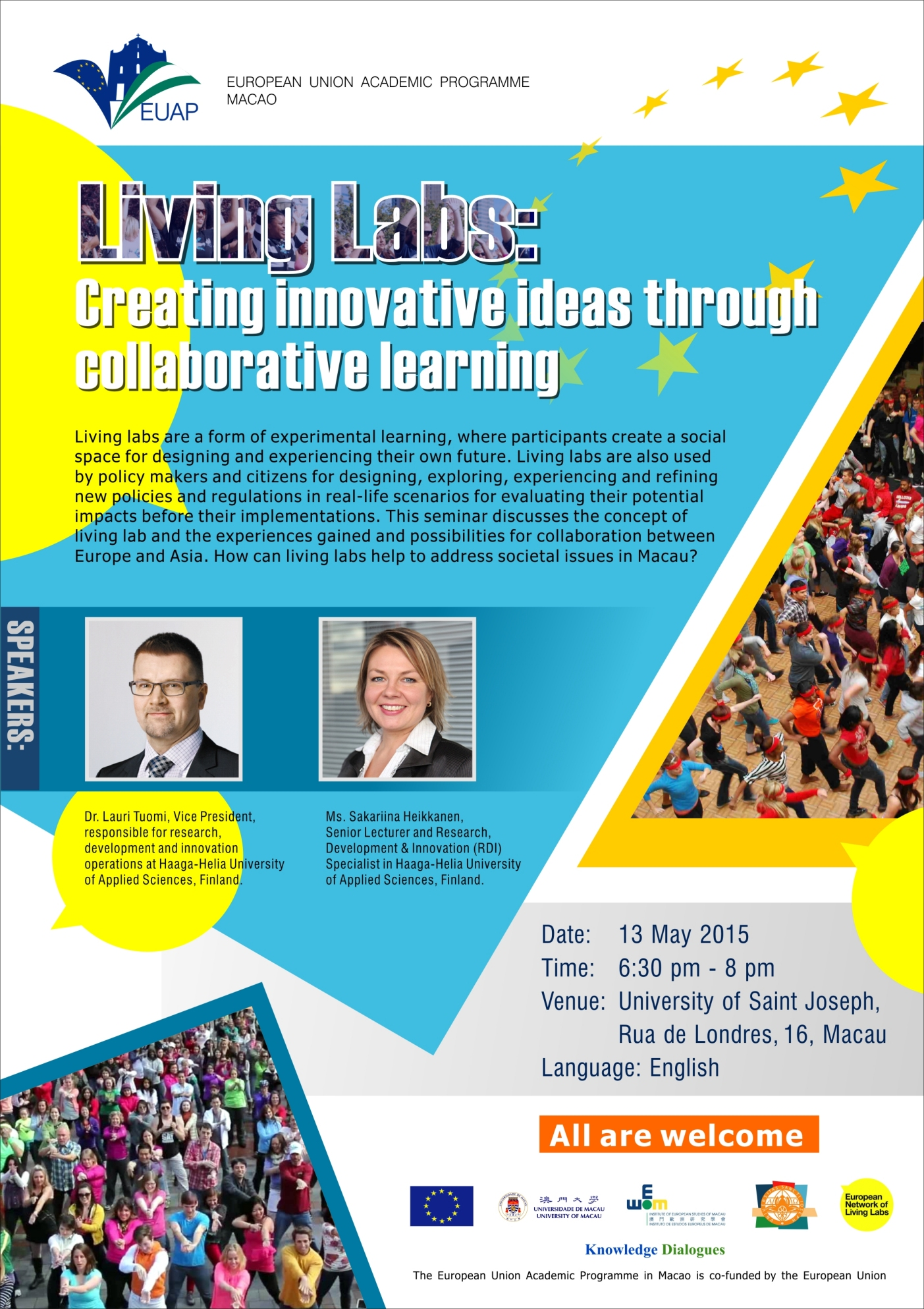 Living Labs poster A1