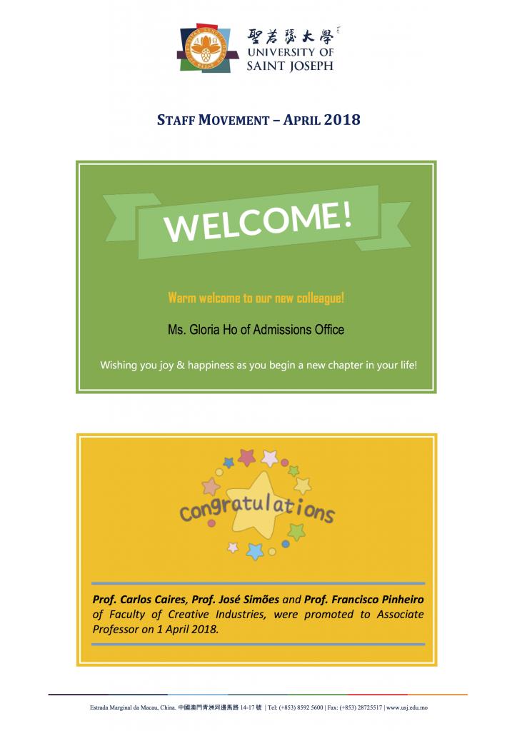 staff movement_April_2018