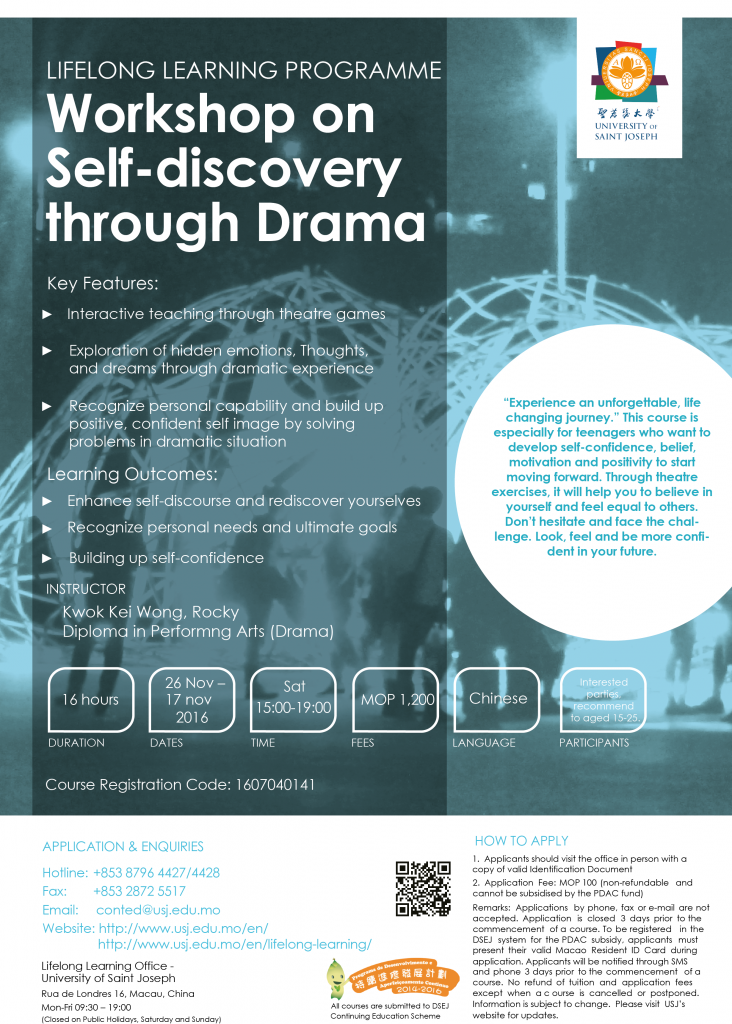 Workshop on Self-discovery through Drama