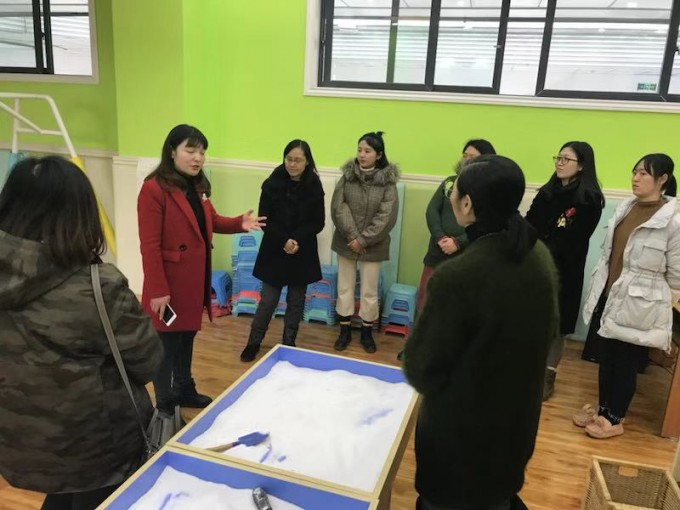 The Vice Principal of Chengdu Jinyang Primary School (成都晋陽小學) introduced their in-school Resource Centre for supporting SEN students