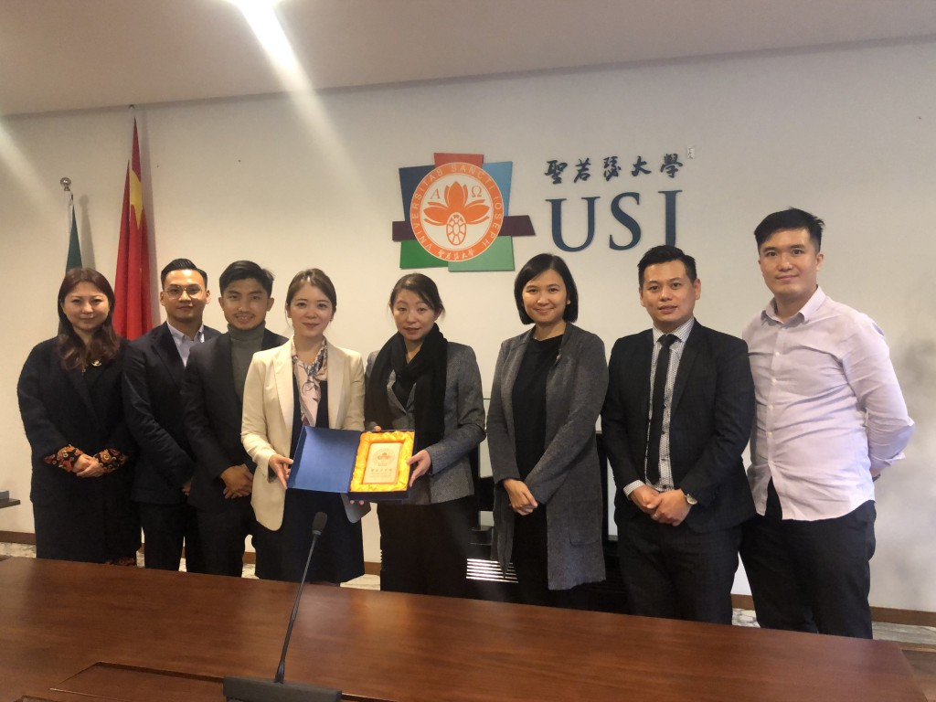 Meet with Economic and Trade PRomotion Association
